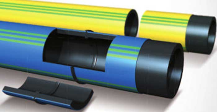 Egeplast SLM® 3.0: tubo in PE100 RC  corazzato. PAS 1075 tipo 3