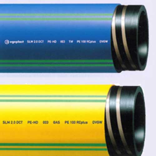 Egeplast SLM® DCT: tubo in PE 100 RC corazzato con controllo integrità e localizzazione