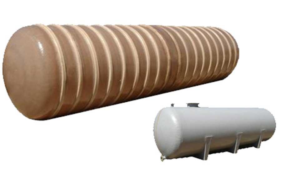 Serbatoi e contenitori in vetroresina ( PRFV ) per lo stoccaggio di liquidi neutri e aggressivi