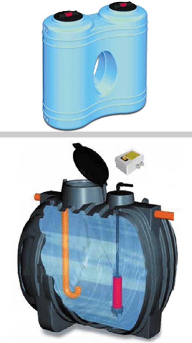 Serbatoi in polietilene per accumulo acque meteoriche e risparmio idrico