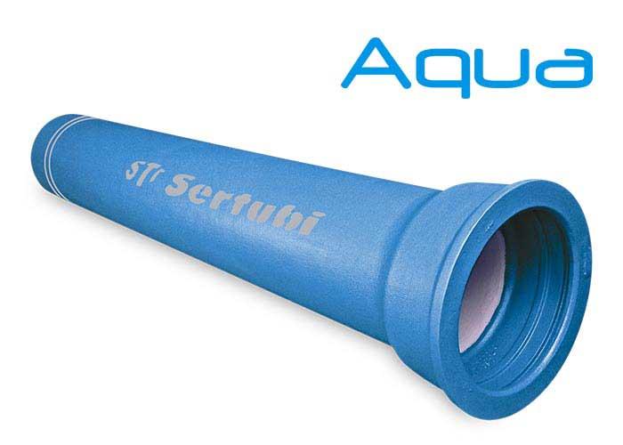 Tubi in ghisa per acquedotto Acqua EN 545