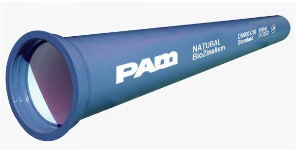 Tubi in ghisa per acquedotto Natural Biozinalium®