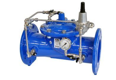 Valvola idraulica riduttrice di pressione a valle