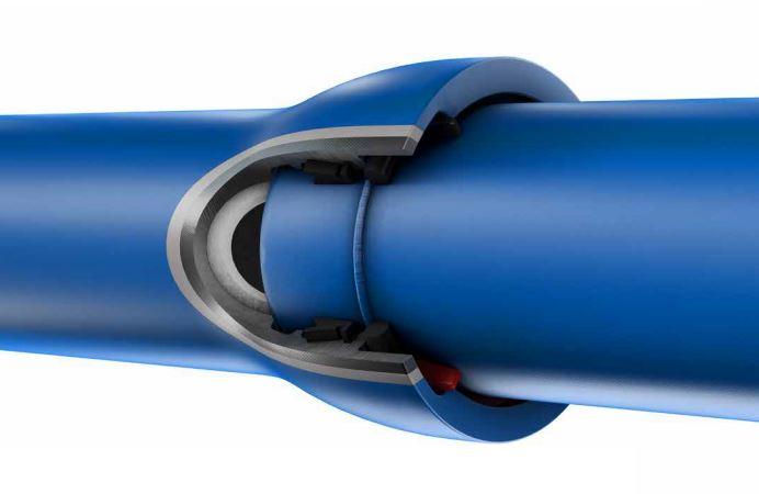 Tubi in ghisa sferoidale antisfilamento con cordone saldato TRM VRS-T